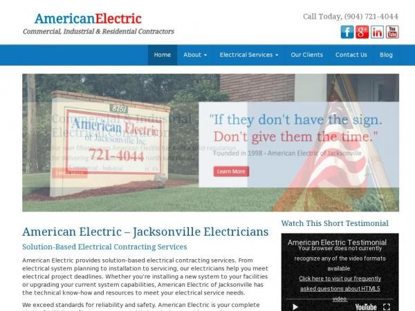 americanelectricofjacksonville.com