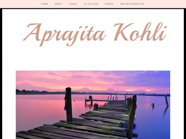 aprajitakohli.com