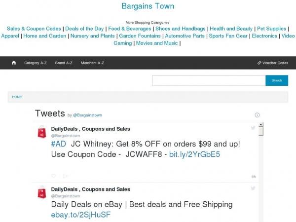 bargainstown.com