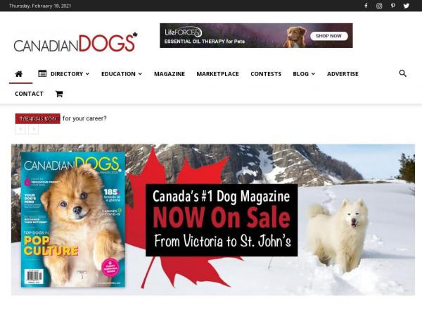 canadiandogs.com