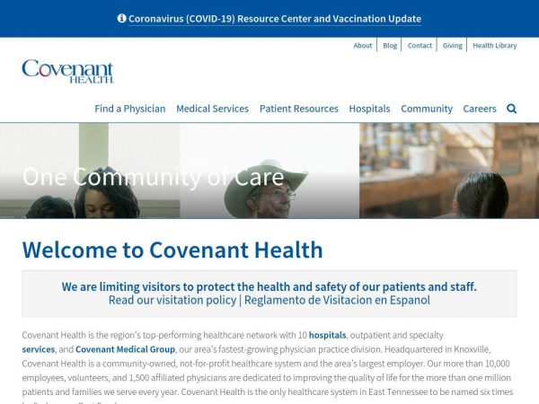 covenanthealth.com