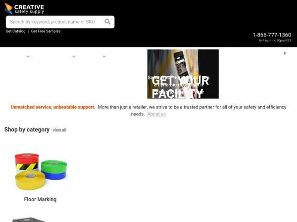 creativesafetysupply.com