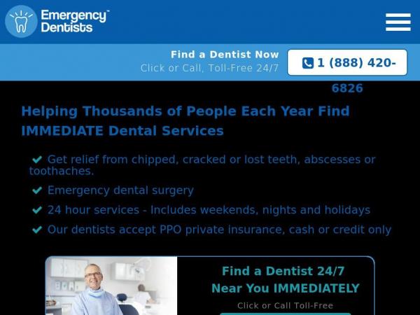 emergencydentistsusa.com