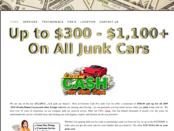 extremecashforjunkcars.com