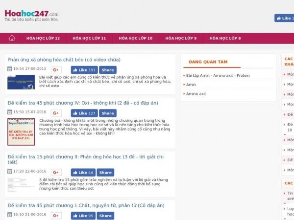 hoahoc247.com