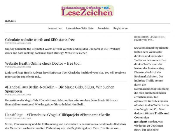 lesezeichen-bookmarking.de
