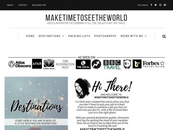 maketimetoseetheworld.com