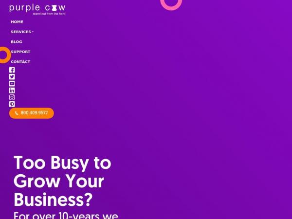 purplecowagency.com