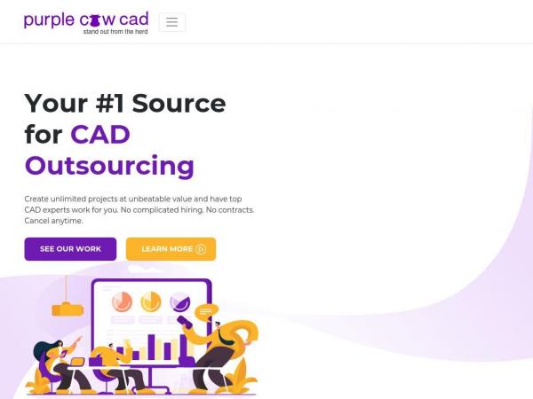 purplecowcad.com
