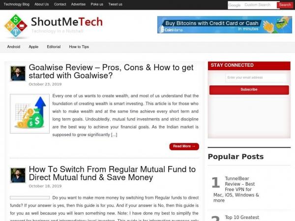 shoutmetech.com
