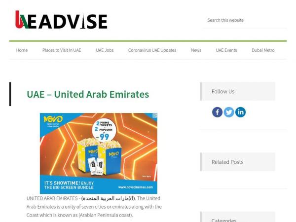 uaeadvise.com
