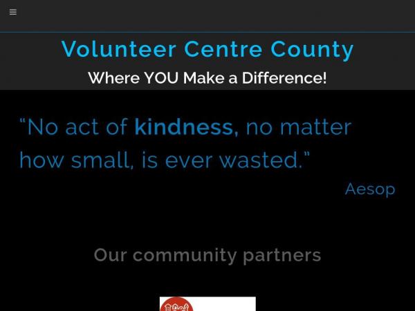 volunteercentrecounty.org