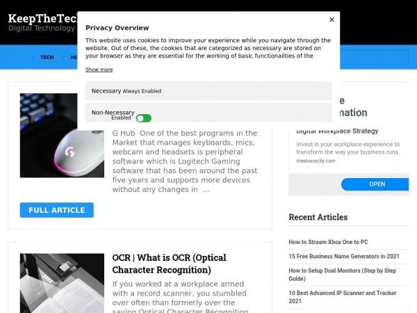 keepthetech.com