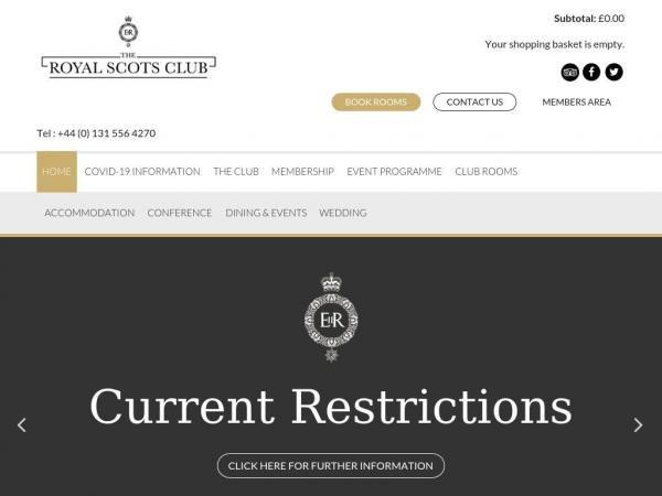 royalscotsclub.com