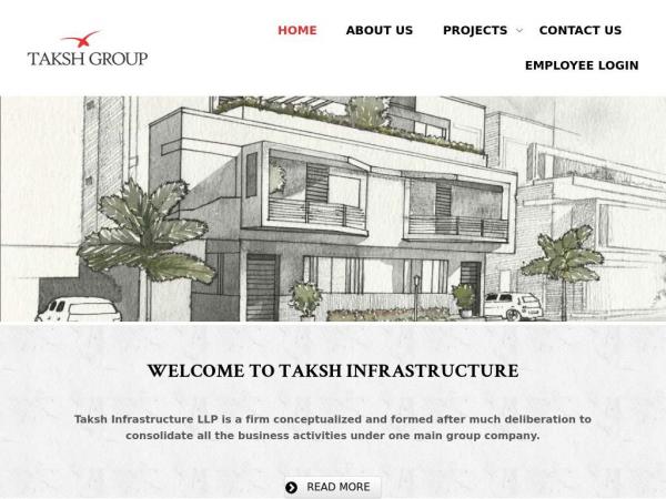takshinfra.com